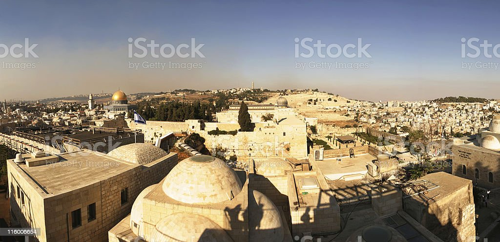 Jerusalem XXL royalty-free stock photo