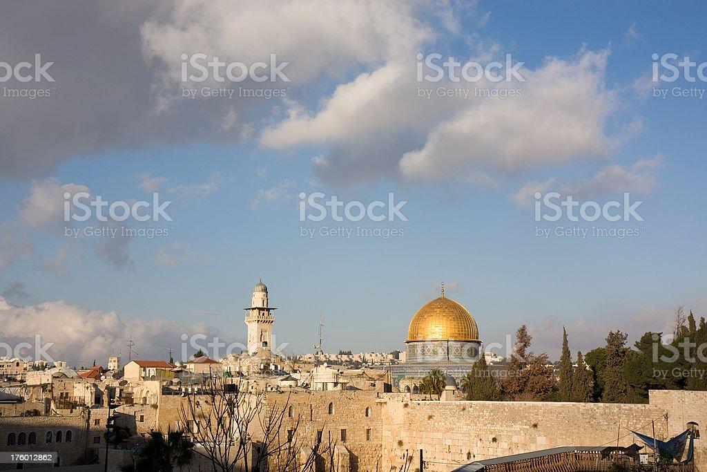 Jerusalem_Western Wall royalty-free stock photo