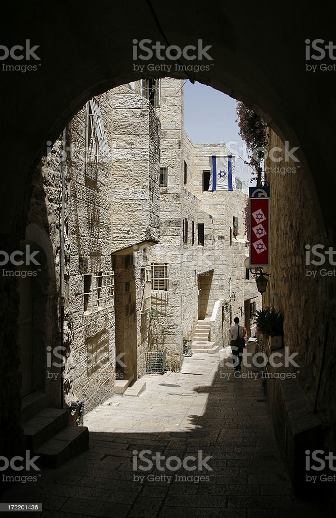 Jerusalem's Old City royalty-free stock photo