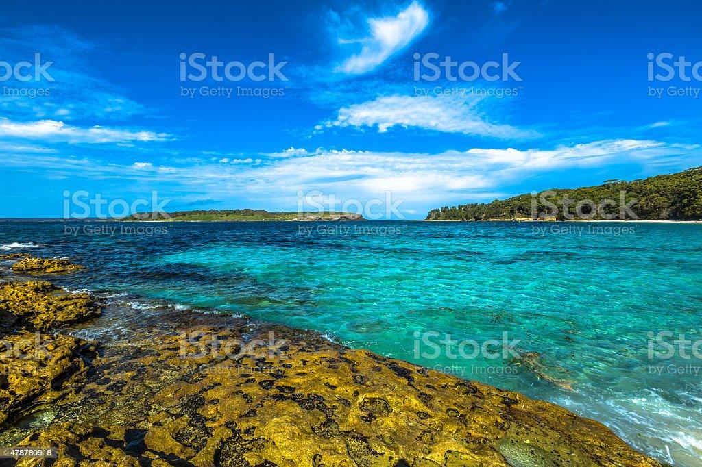 Jervis Bay Australia stock photo