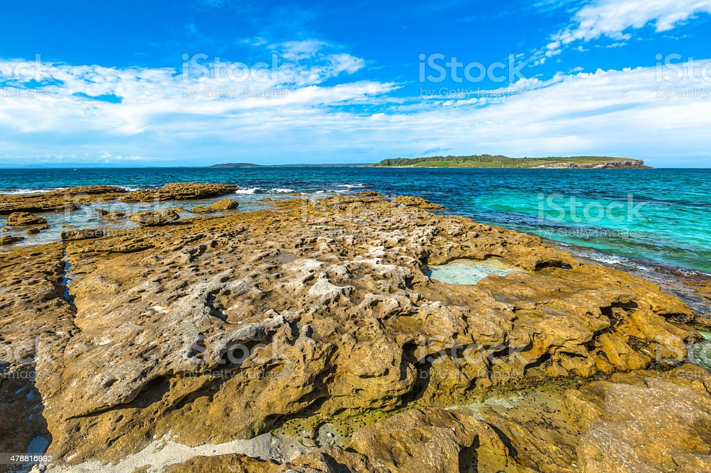 Jervis Bay New South Wales stock photo