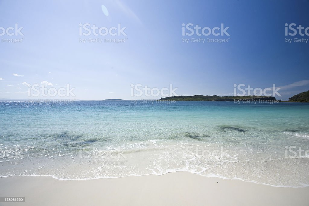 Jervis bay, Ocean Scene stock photo
