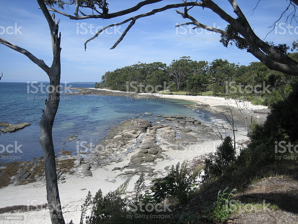 Jervis Bay royalty-free stock photo
