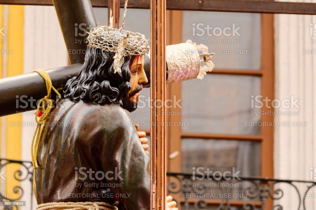 Jesús del Gran Poder Quito stock photo