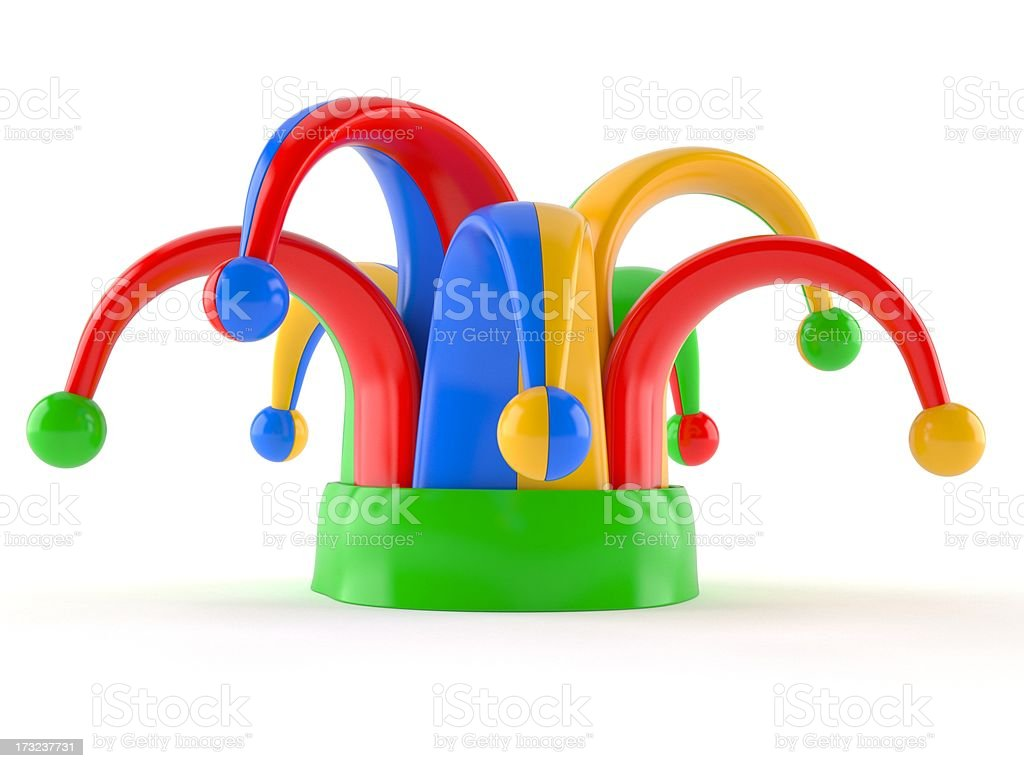 Jester hat royalty-free stock photo
