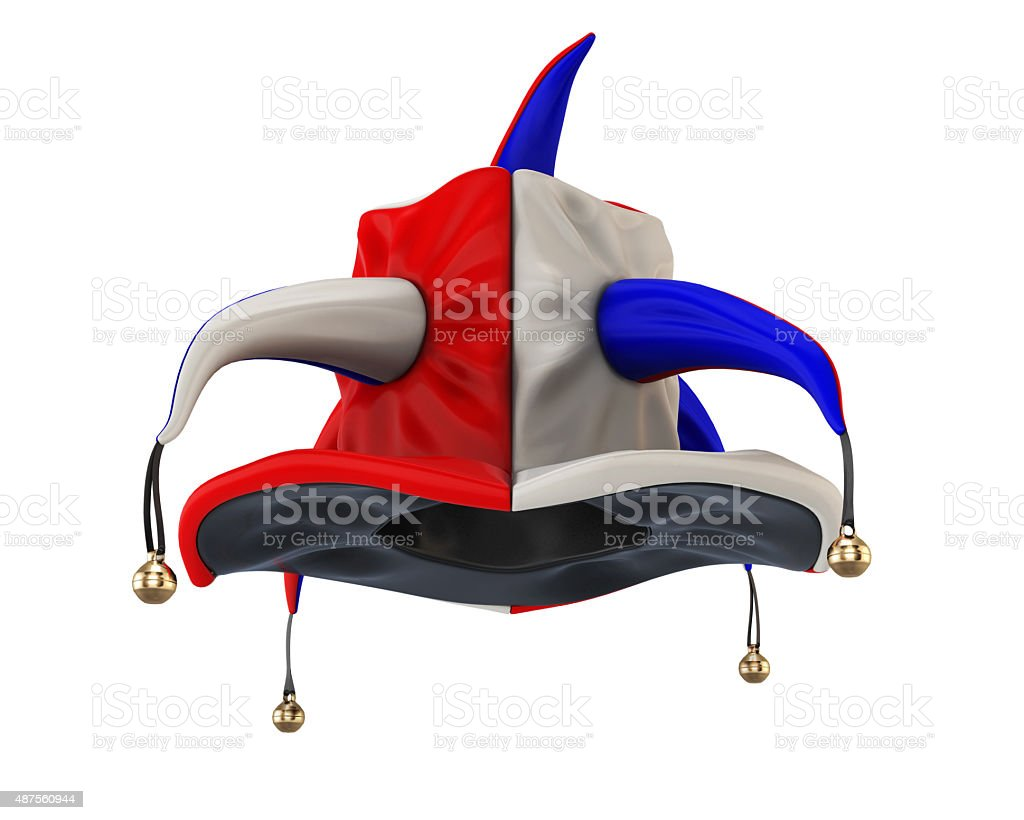 Jester hat for your design stock photo