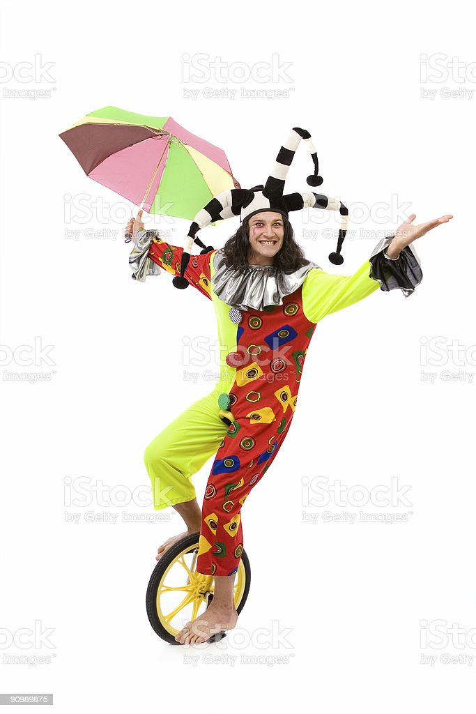 jester joker stock photo