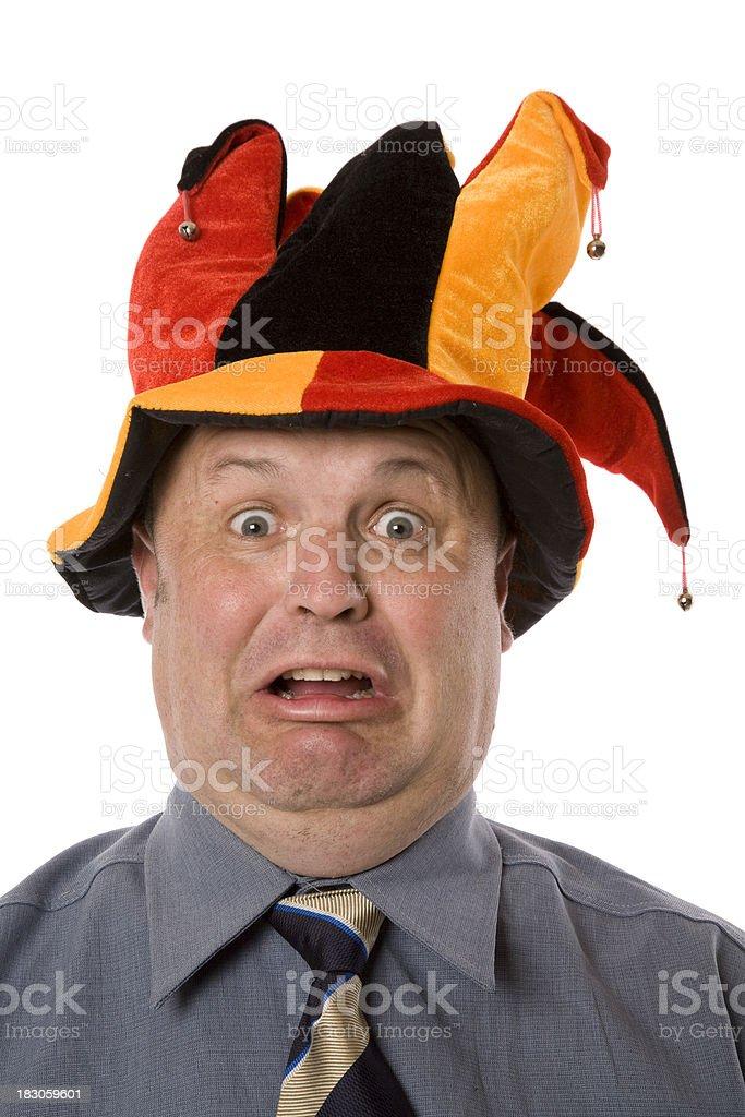 Jester Joking royalty-free stock photo