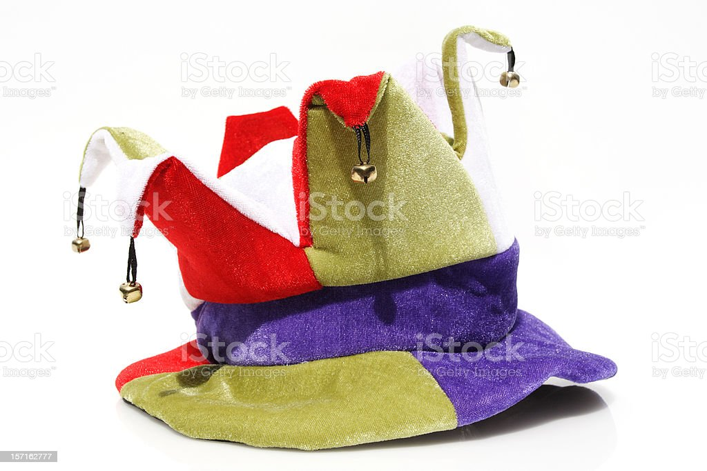 jester minute stock photo