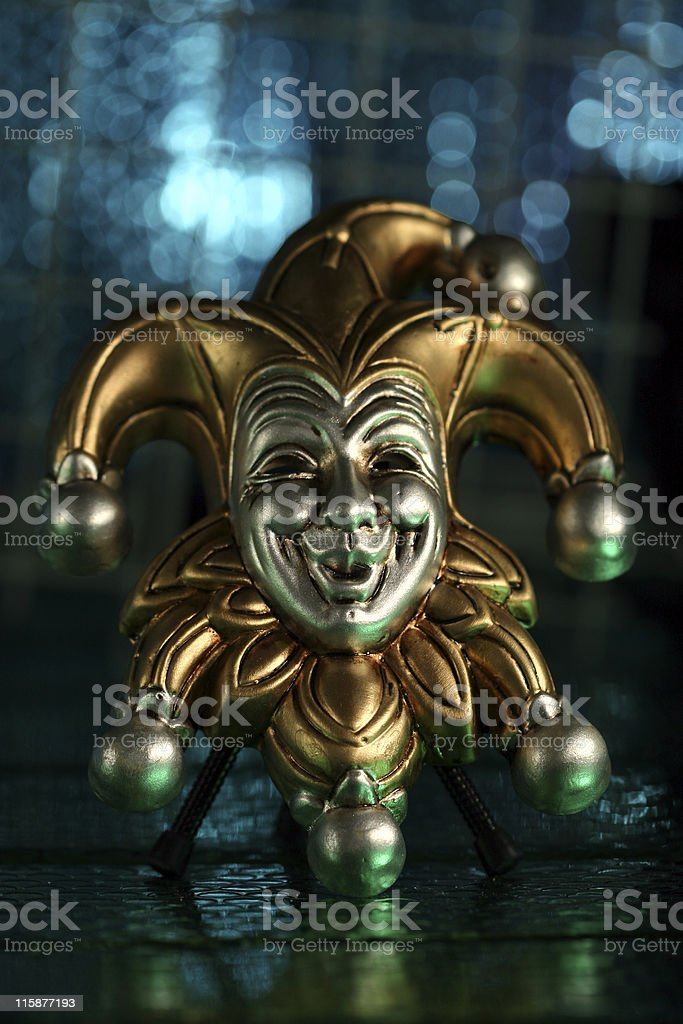 Jester royalty-free stock photo