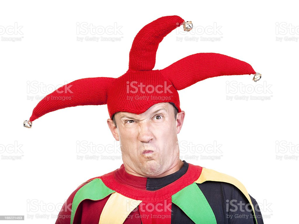 jester stock photo