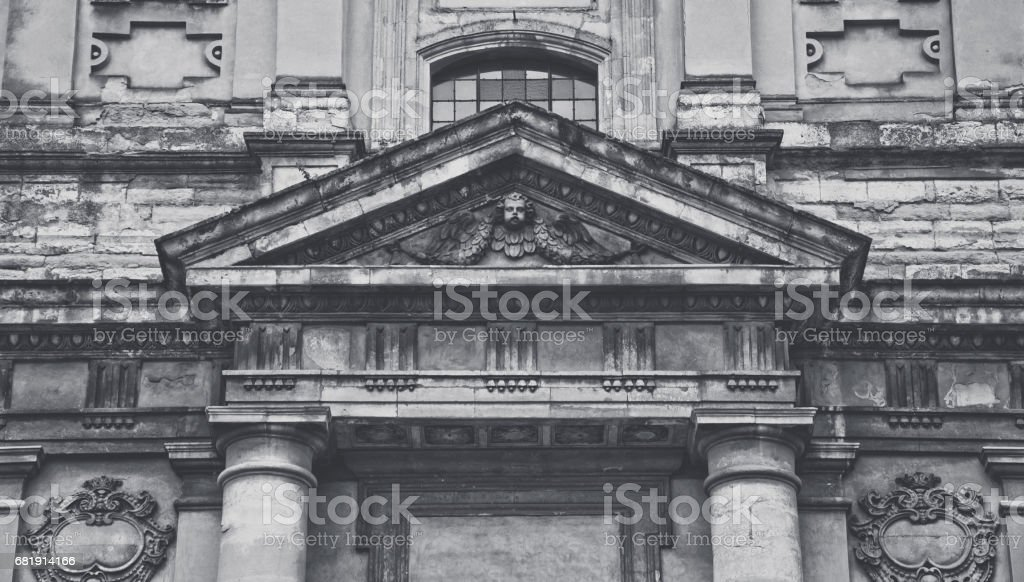 Jesuit Cathedral of the apostles Peter and Paul. The City Of Lviv, Ukraine stock photo