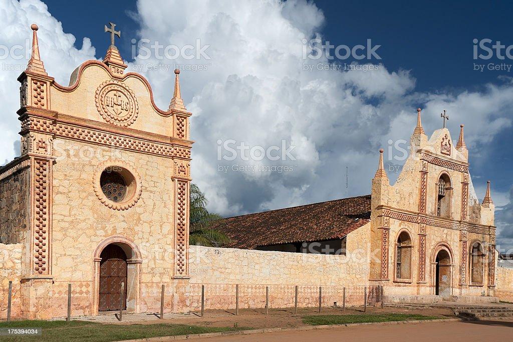 Jesuit Church stock photo
