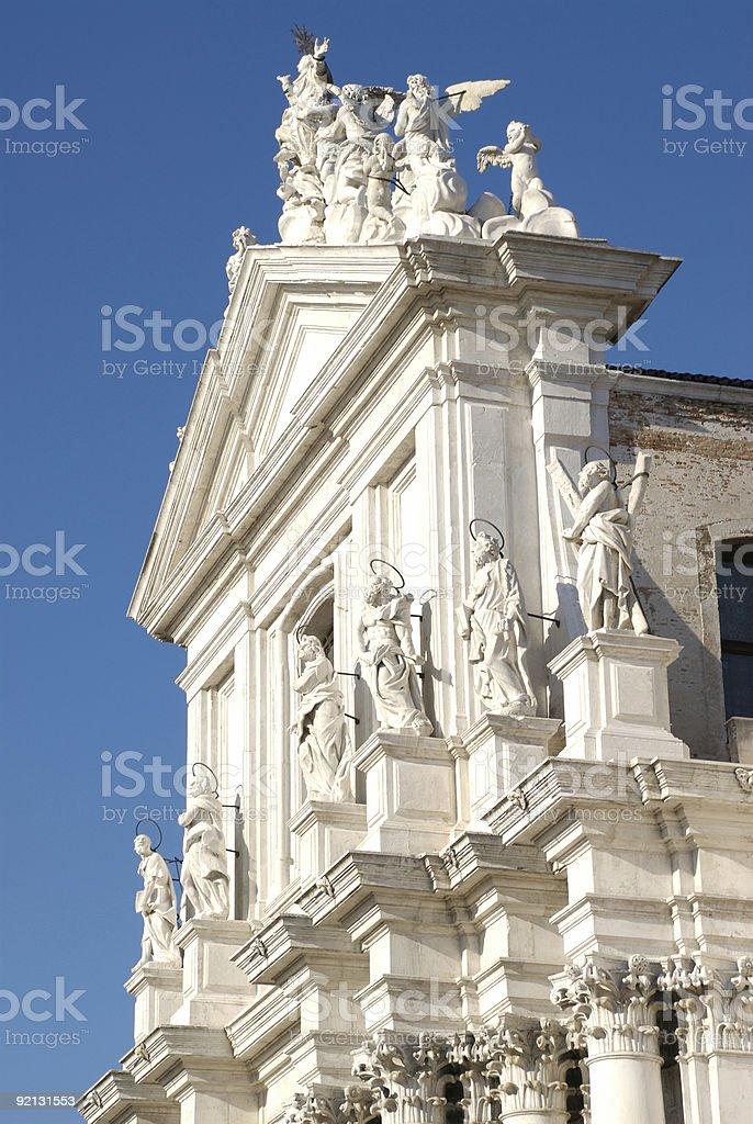 Jesuit Church, Venice stock photo