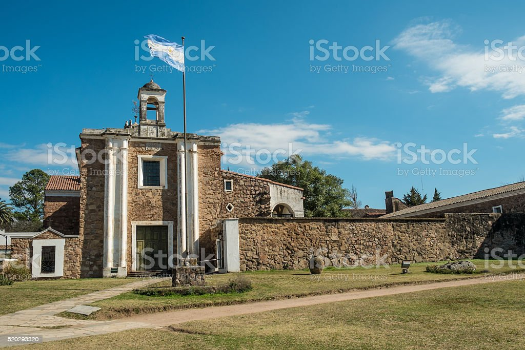Jesuit estancia stock photo