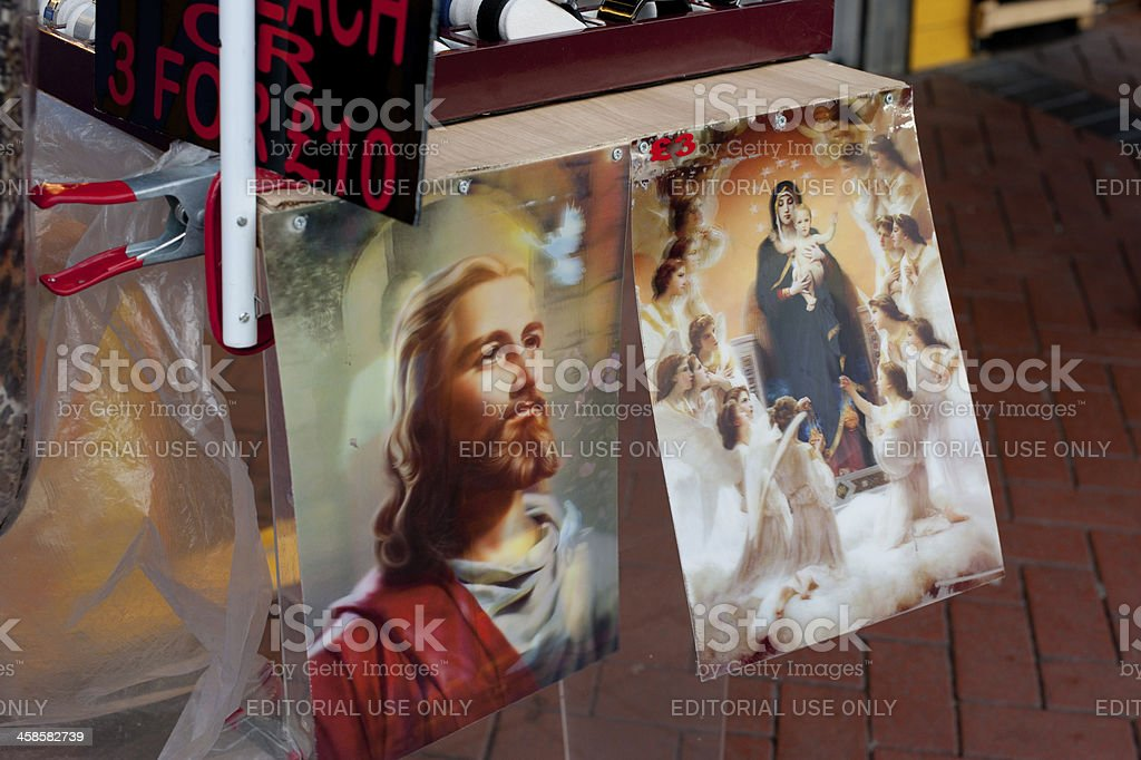 Jesus and Mary Holograms For Sale royalty-free stock photo