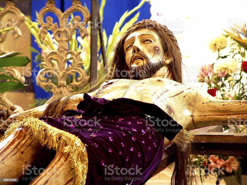 Jesus Christ Close up stock photo