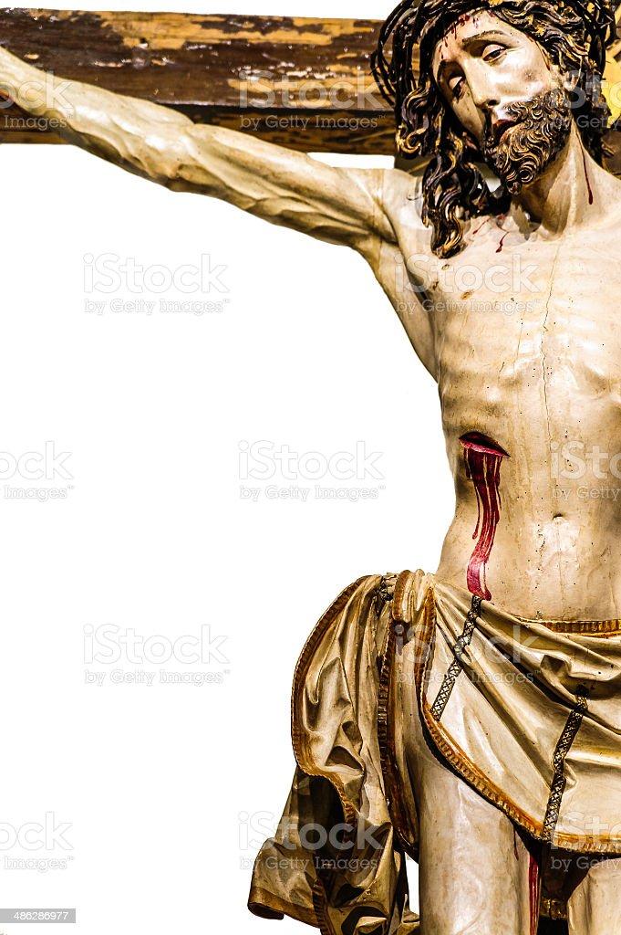 Jesus Christ on the Cross royalty-free stock photo