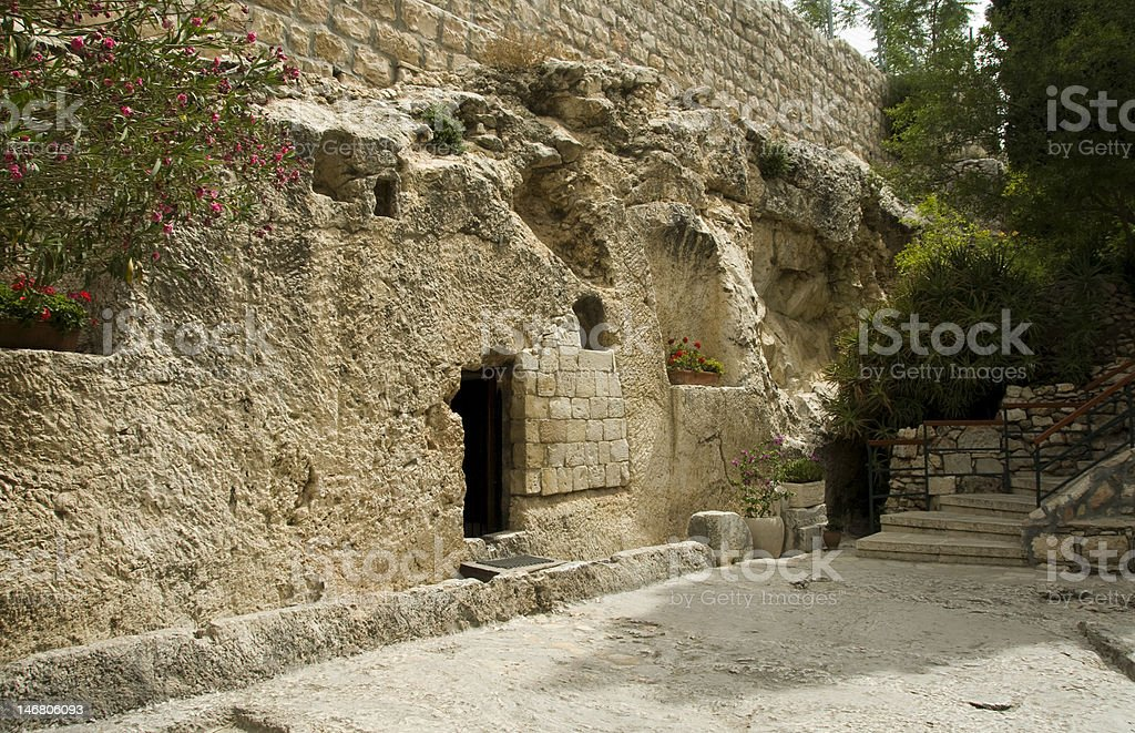 jesus christ tomb israel royalty-free stock photo