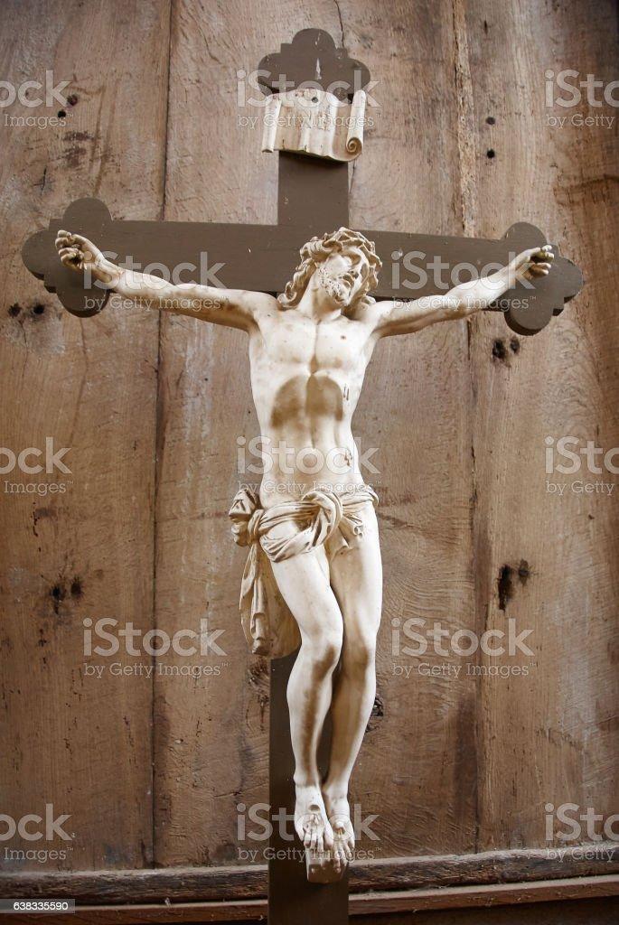 jesus cross stock photo