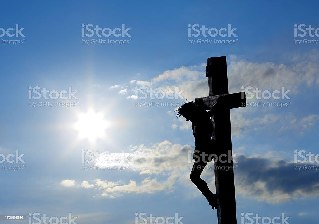 Jesus Crucifixion royalty-free stock photo