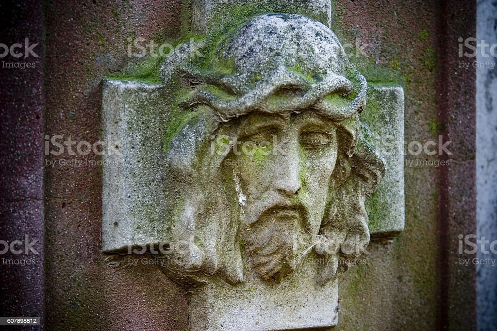 Jesus' Head stock photo