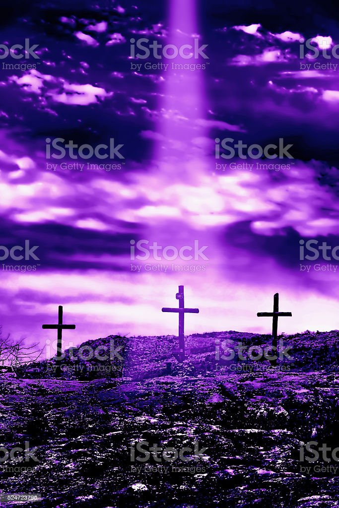 Jesus is Comming. stock photo