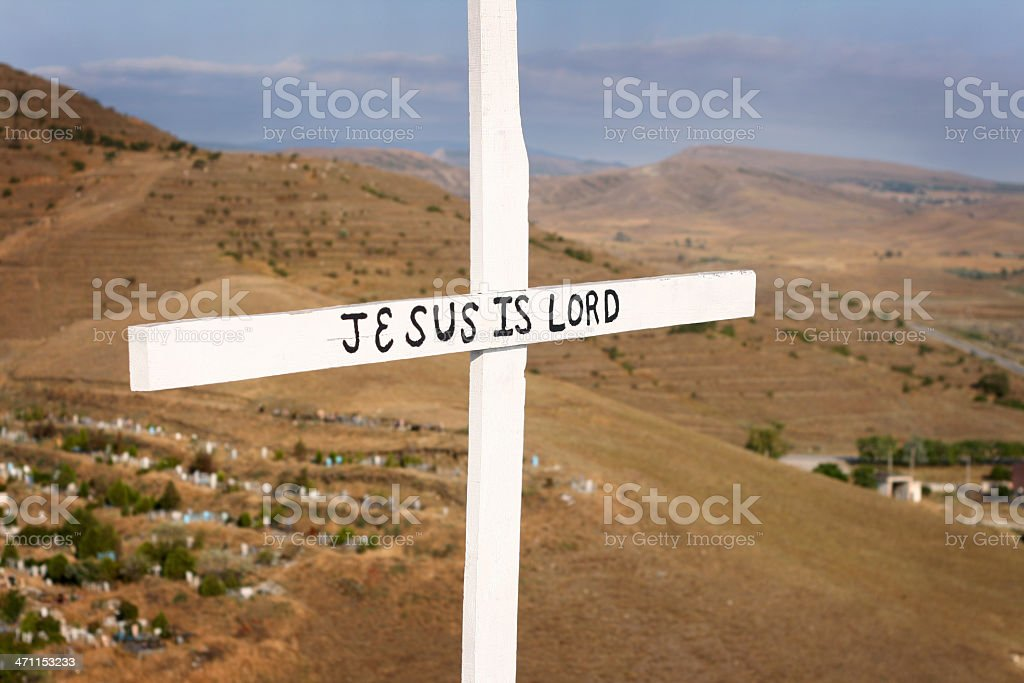Jesus Is Lord royalty-free stock photo