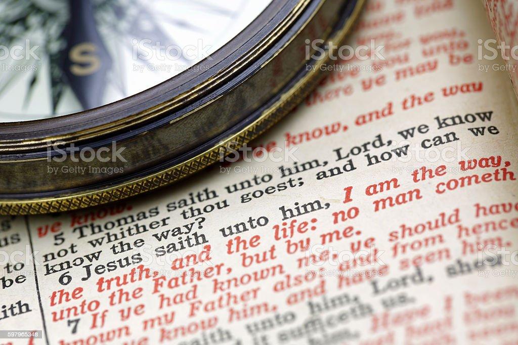 Jesus is the Way stock photo
