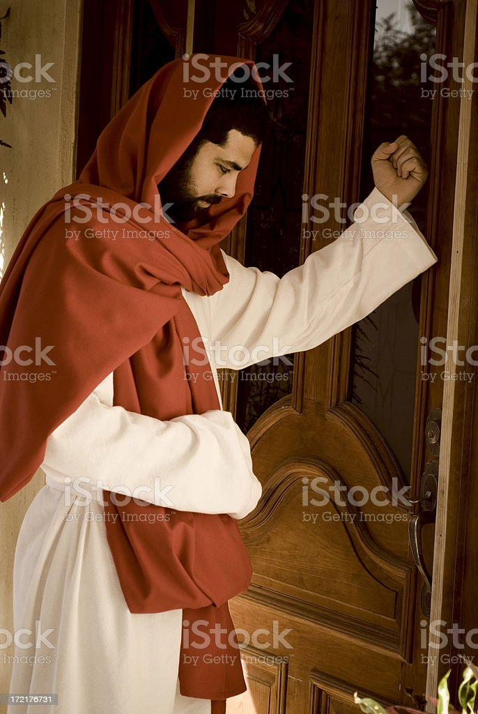 Image result for pictures of Jesus knocking at the door