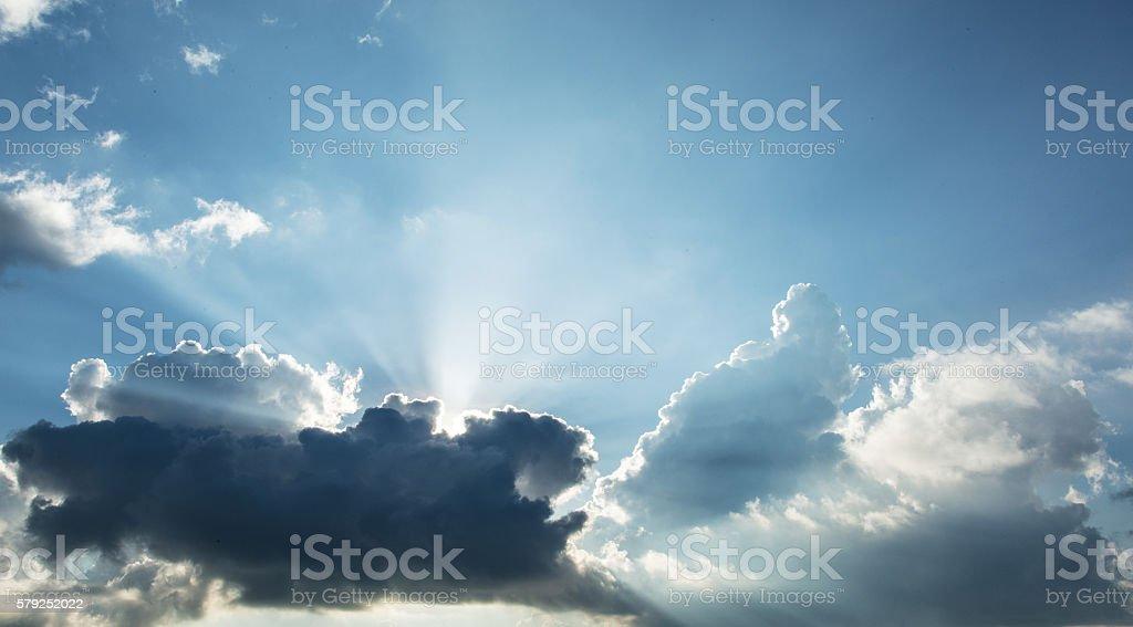 Jesus Light stock photo