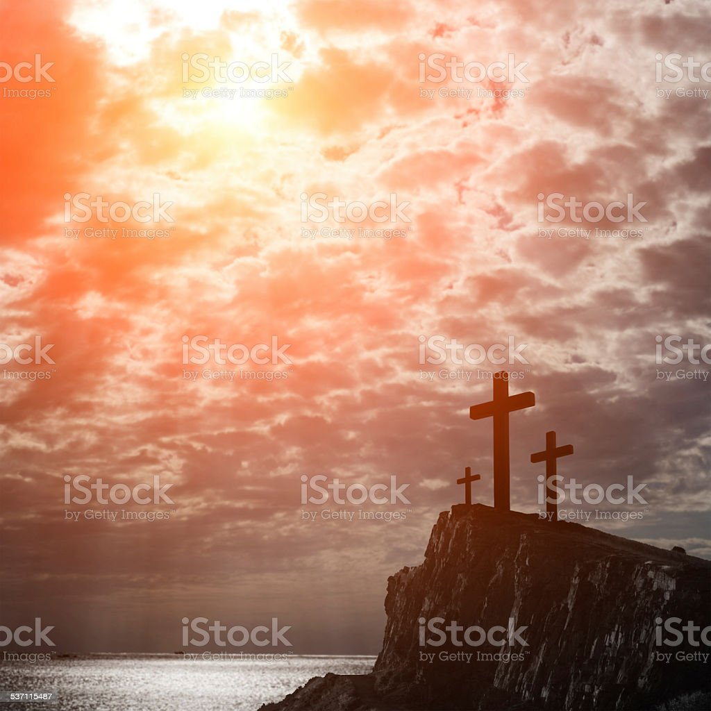 Jesus love you stock photo