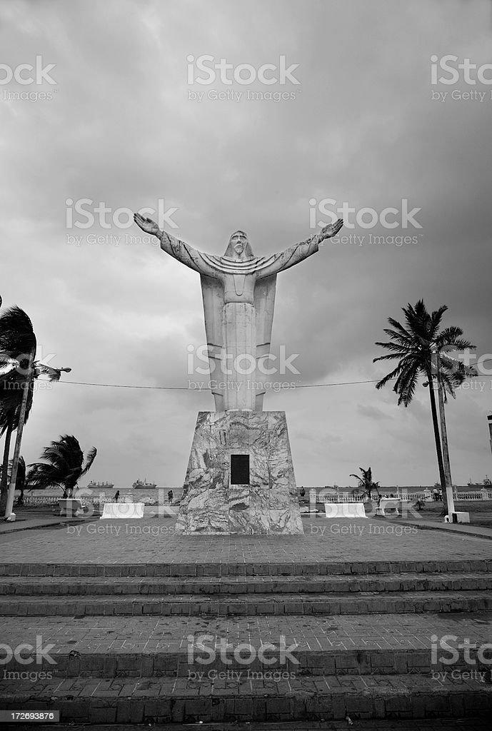 Jesus of Colon royalty-free stock photo