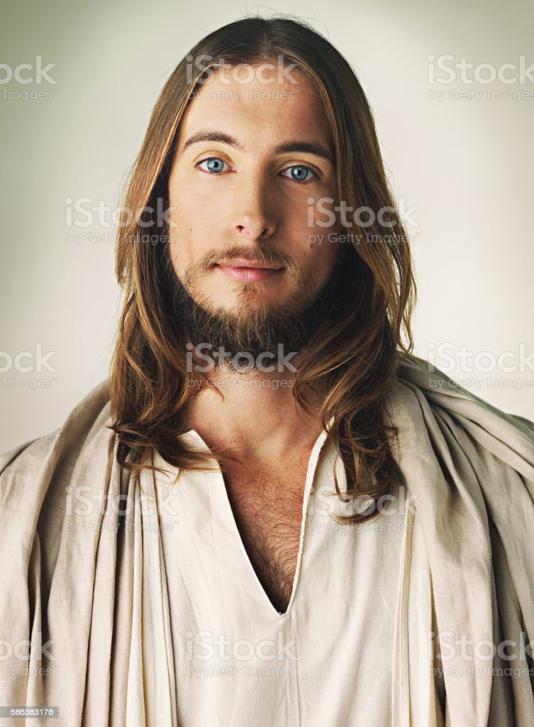 Jesus of Nazareth stock photo