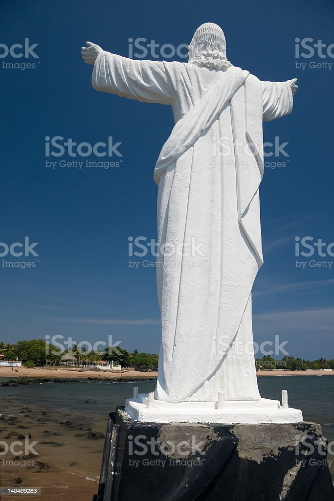 Jesus of Sonsonate stock photo