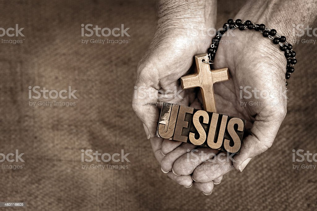 Jesus royalty-free stock photo