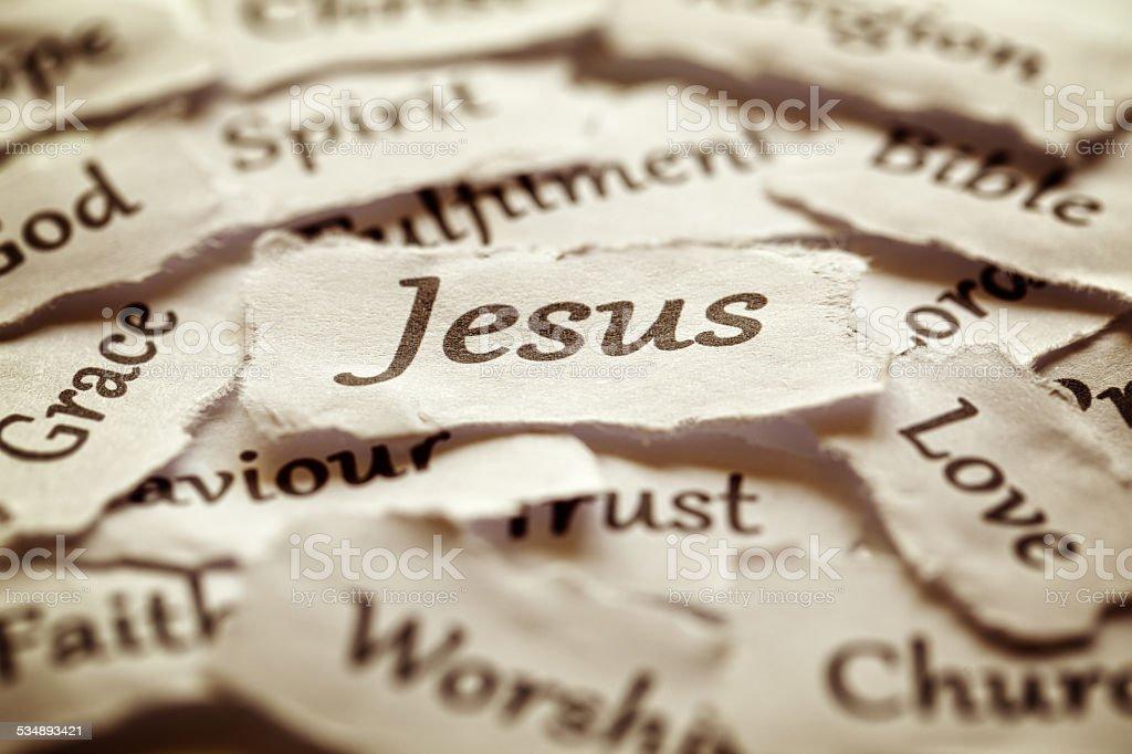 Jesus stock photo