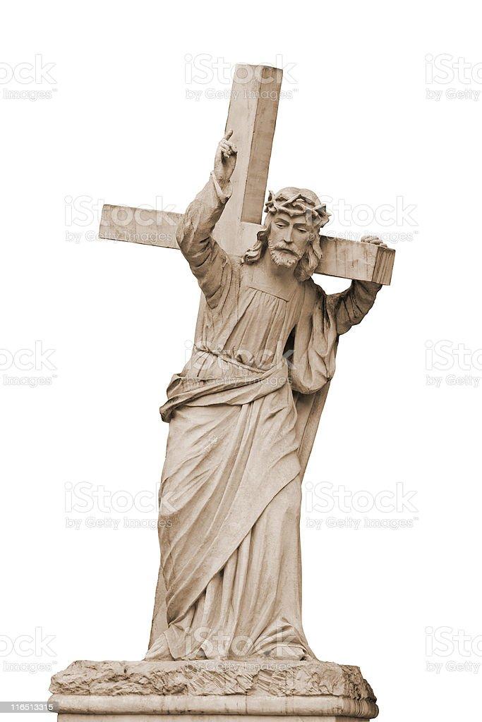 Jesus Stone stock photo