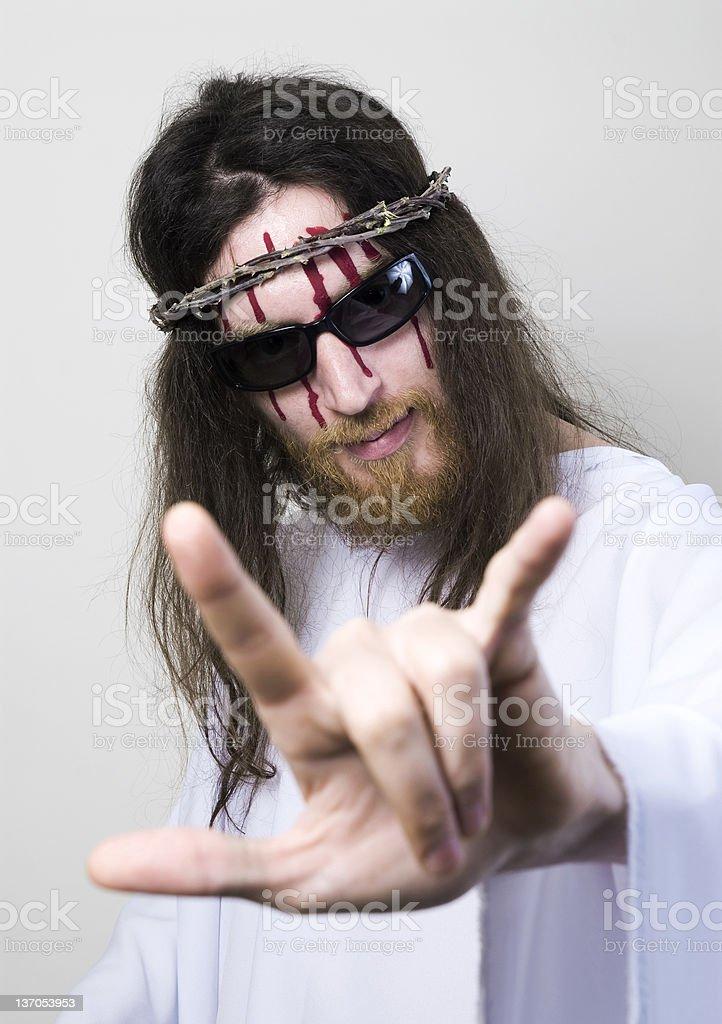 Jesus SuperStar stock photo