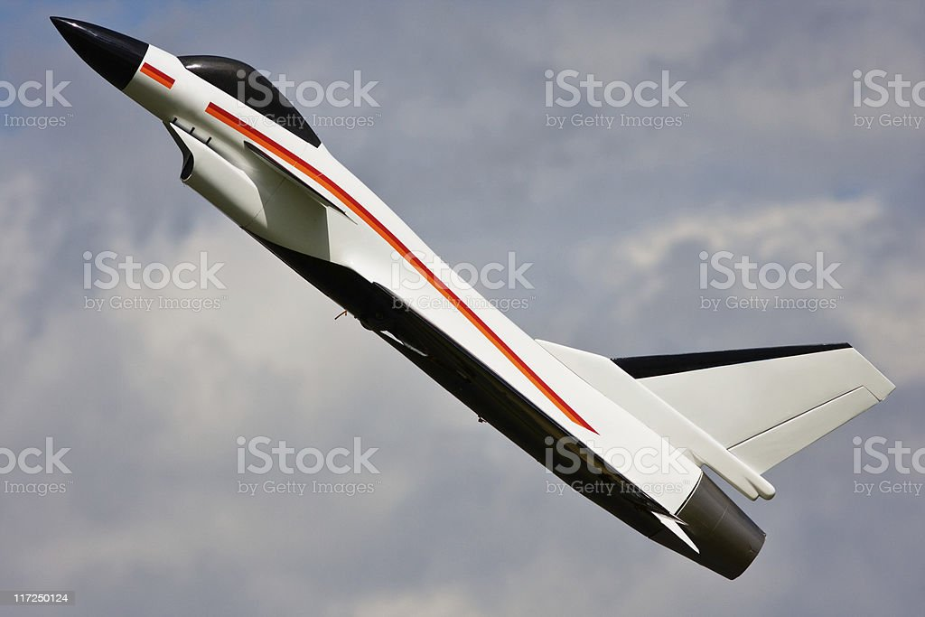 Jet aircraft Fighter - Remote Controlled Airplane stock photo