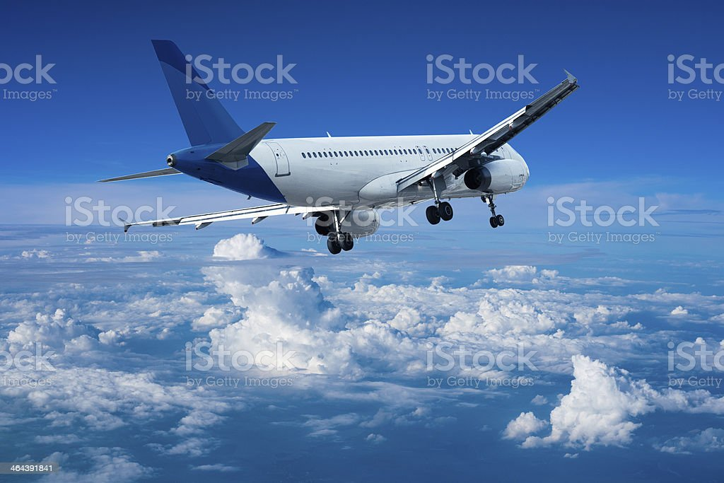 Jet aircraft royalty-free stock photo