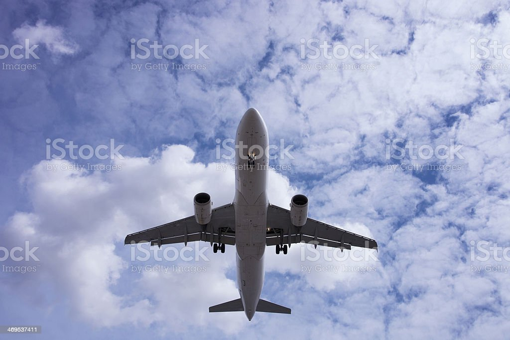 Jet airliner royalty-free stock photo