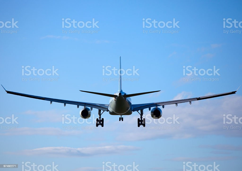 Jet Airplane stock photo