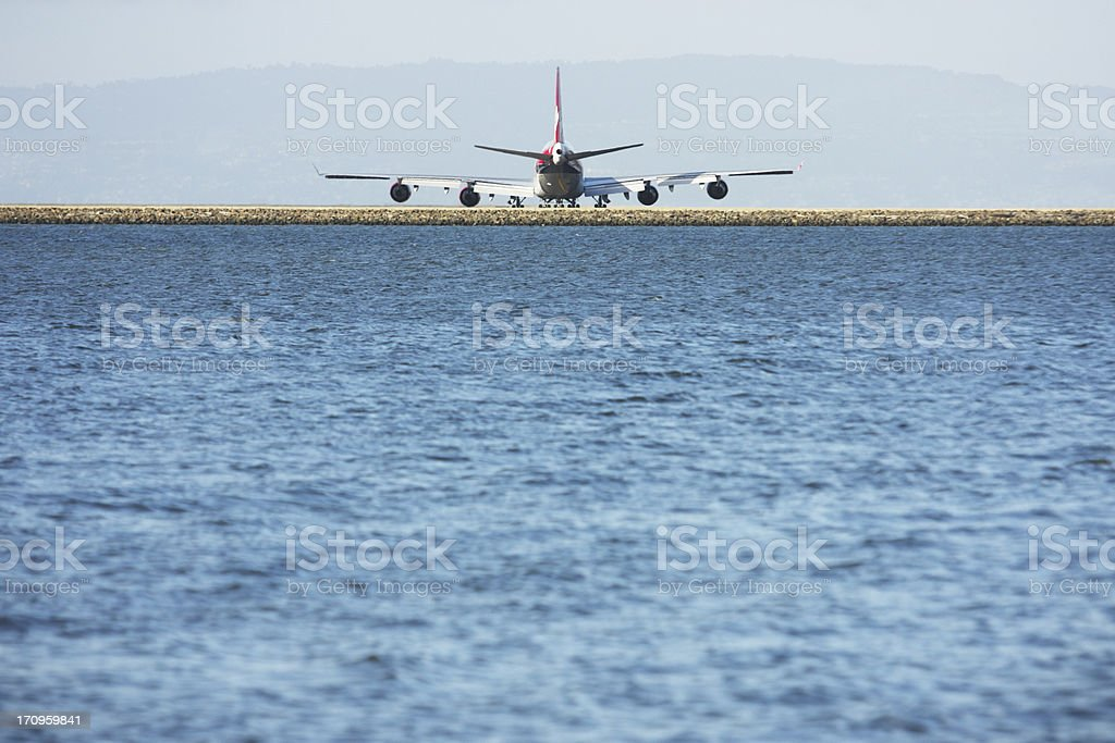Jet Airport Runway royalty-free stock photo