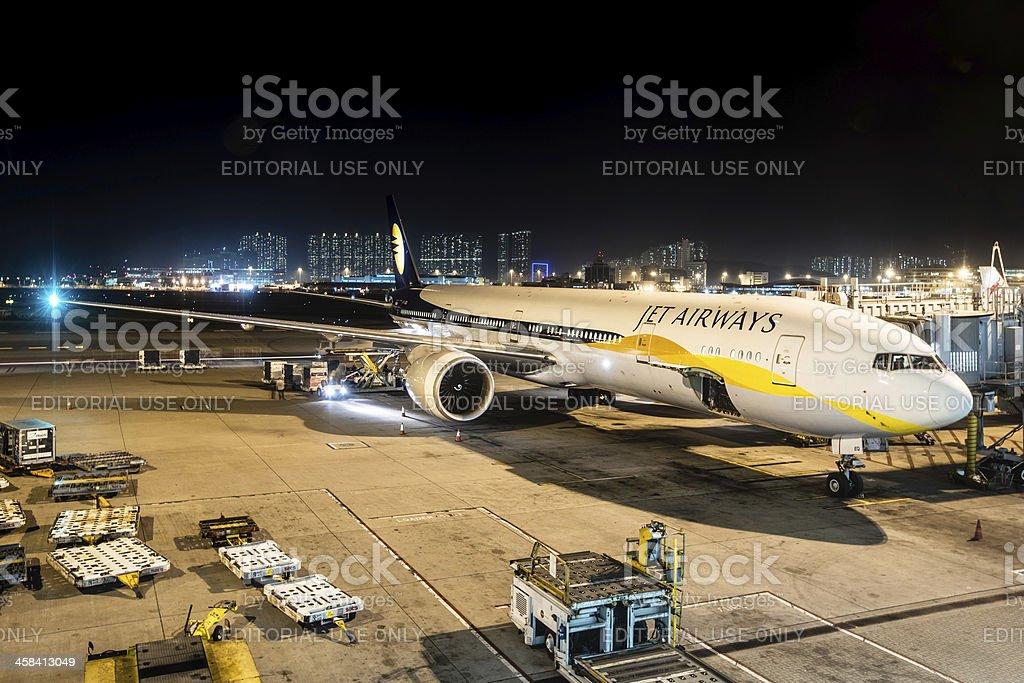 Jet Airways Boeing 777-300/ER stock photo