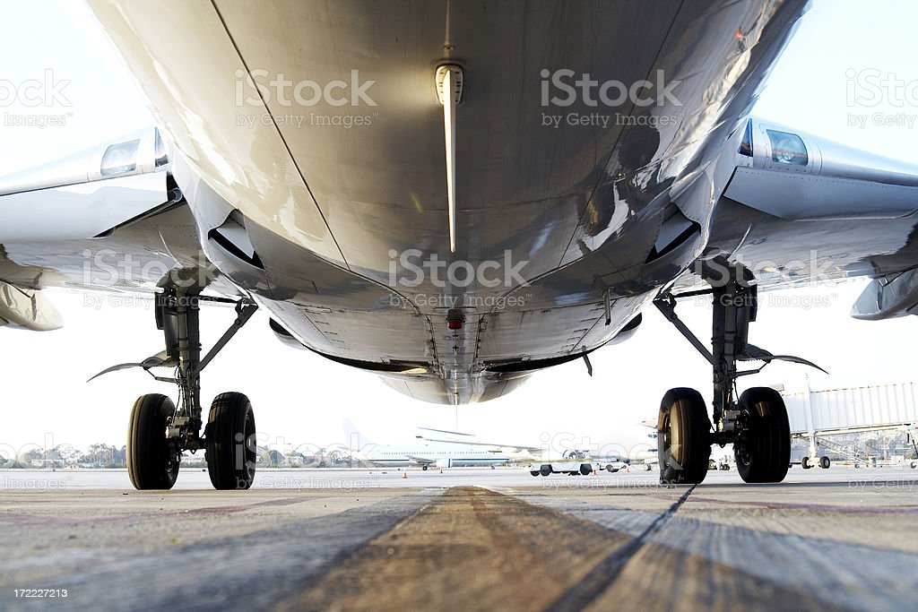 jet belly stock photo