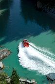 jet boat at shotover river