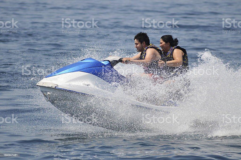 Jet Boat stock photo