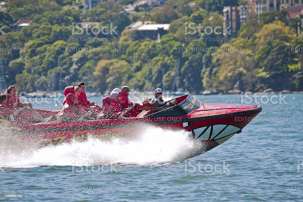 Jet Boating stock photo