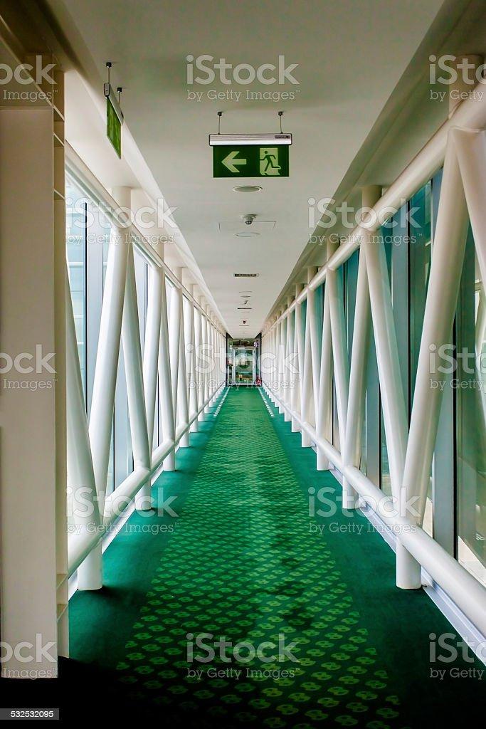 Jet Bridge stock photo